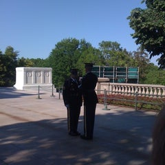 Photo taken at Tomb of the Unknowns by Zach S. on 4/27/2012