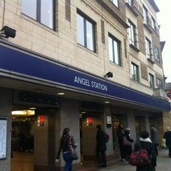Photo taken at Angel London Underground Station by V S. on 3/6/2012