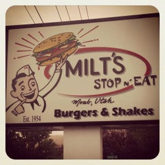 Photo taken at Milt's Stop & Eat by Missy B. on 5/28/2012