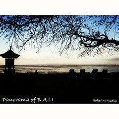 Photo taken at Pantai Segara Ayu by Abraham S. on 8/31/2012
