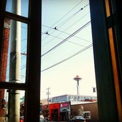 Photo taken at Toulouse Petit Kitchen & Lounge by Alan M. on 8/11/2012