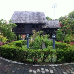 Photo taken at P. Ramlee's House by Aiden A. on 4/21/2012