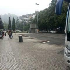 Photo taken at Estación de Autobuses de Donostia/San Sebastián by Fabian A. on 6/28/2012