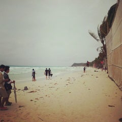 Photo taken at White Beach by Hatcha S. on 8/14/2012