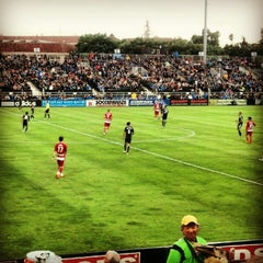 Photo taken at Buck Shaw Stadium by Nima M. on 7/19/2012
