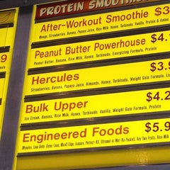 Photo taken at The Smoothie Factory by Nisha H. on 2/20/2012