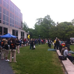 Photo taken at Frist Campus Center by Darrell M. on 5/3/2012