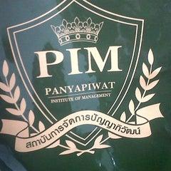 Photo taken at สถาบันการจัดการปัญญาภิวัฒน์ (PIM) Panyapiwat Institute of Management by Vilai J. on 4/7/2012