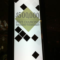 Photo taken at Bellagio Poker Room by Zahlouth J. on 3/11/2012