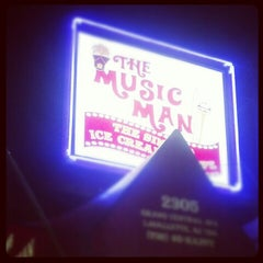Photo taken at The Music Man Singing Ice Cream Shoppe by Kelsey H. on 8/23/2012