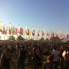 Photo taken at Pukkelpop by Bart F. on 8/18/2012