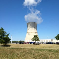 Photo taken at Davis-Besse Nuclear Power Station by John B. on 7/11/2012