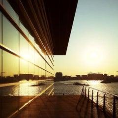 Photo taken at Mövenpick Hotel Amsterdam City Centre by Jo on 5/25/2012