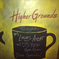Photo taken at Higher Grounds Coffee House by Reid D. on 7/27/2012
