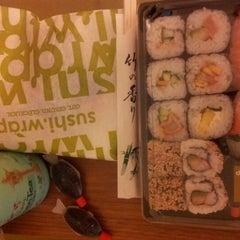 Photo taken at Sushi Wrap by Emili B. on 9/5/2012