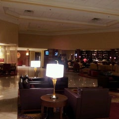 Photo taken at Marriott Cleveland Airport by Jeffrey L. on 4/6/2012