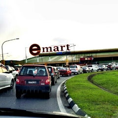 Photo taken at E-Mart by Diyana Fatin M. on 7/27/2012
