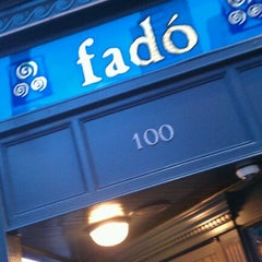 Photo taken at Fadó Irish Pub & Restaurant by Miles D. on 3/5/2012