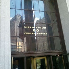 Photo taken at New York Supreme Court by German B. on 6/7/2012