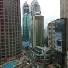 Photo taken at 大上海时代广场   Times Square by c4macaron on 2/28/2012