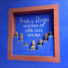 Photo taken at Museo Frida Kahlo by angelluis on 8/18/2012