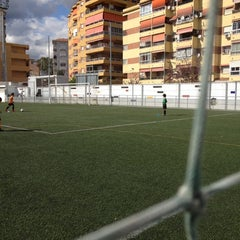 Photo taken at Olimpica Victoriana Club de Futbol by Alicia L. on 4/12/2012