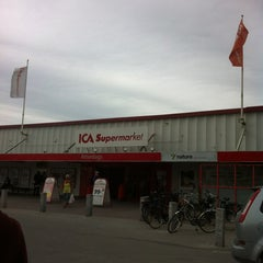 Photo taken at ICA Atterdags Supermarket by Sebastian S. on 7/4/2012