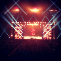 Photo taken at Metro Radio Arena by Han on 6/19/2012