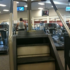 Photo taken at LA Fitness by Cedric W. on 5/14/2012