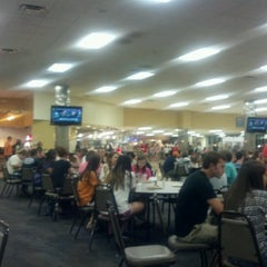 Photo taken at Harding University Cafeteria by Corbett H. on 8/19/2012