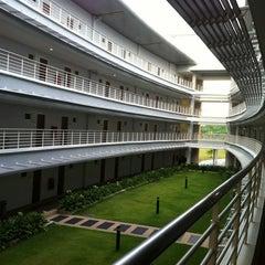Photo taken at Akademi Kepimpinan Pengajian Tinggi (AKEPT) by Ip B. on 7/25/2012