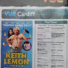 Photo taken at Vue Cinema by Elio Assuncao D. on 8/27/2012