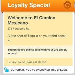Photo taken at El Camion Mexicano by Joe H. on 3/31/2012