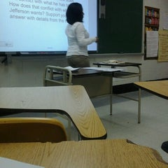 Photo taken at Martin Luther King High School by Ciani M. on 2/29/2012