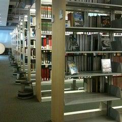 Photo taken at Brandel Library - North Park University by Lizelle M. on 8/2/2012