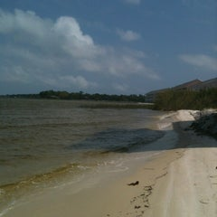 Photo taken at Innerarity Island by Melinda H. on 4/14/2012