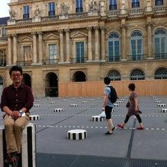 Photo taken at Palais Royal by jeonghoon k. on 7/28/2012