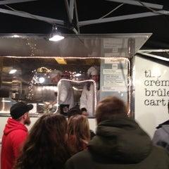 Photo taken at The Crème Brûlée Cart by June K. on 3/18/2012