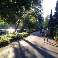 Photo taken at Burke Gilman Trail (Adobe) by Rachel L. on 8/21/2012