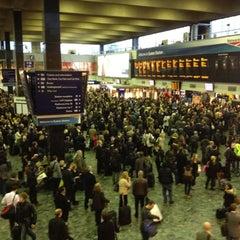 Photo taken at London Euston Railway Station (EUS) by Alan M. on 3/16/2012