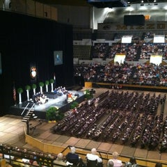Photo taken at Hearnes Center by Rod A. on 5/11/2012