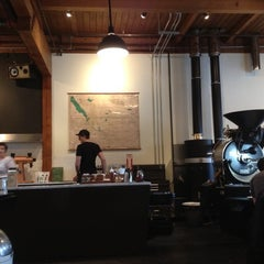 Photo taken at Heart Coffee Roasters by Myles S. on 4/19/2012