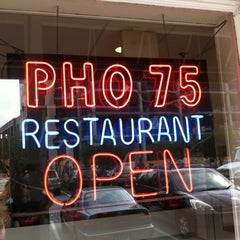 Photo taken at Pho 75 by James J. on 5/26/2012