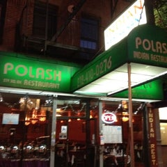 Photo taken at Polash Indian restaurant by Dan B. on 7/9/2012