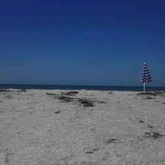 Photo taken at Treasure Island Beach by Arica B. on 9/1/2012