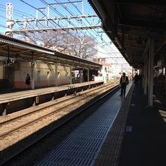 Photo taken at 柴崎駅 (Shibasaki Sta.) (KO15) by sakamomo on 2/20/2012
