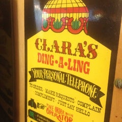 Photo taken at Clara's Pizza King by Todd R. on 6/3/2012