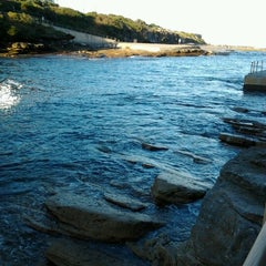 Photo taken at Clovelly Beach by Sean S. on 6/20/2012