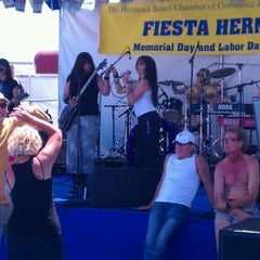 Photo taken at Fiesta Hermosa by Reid on 5/28/2012