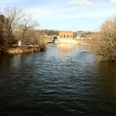 Photo taken at Au Sable River by Rick R. on 3/13/2012